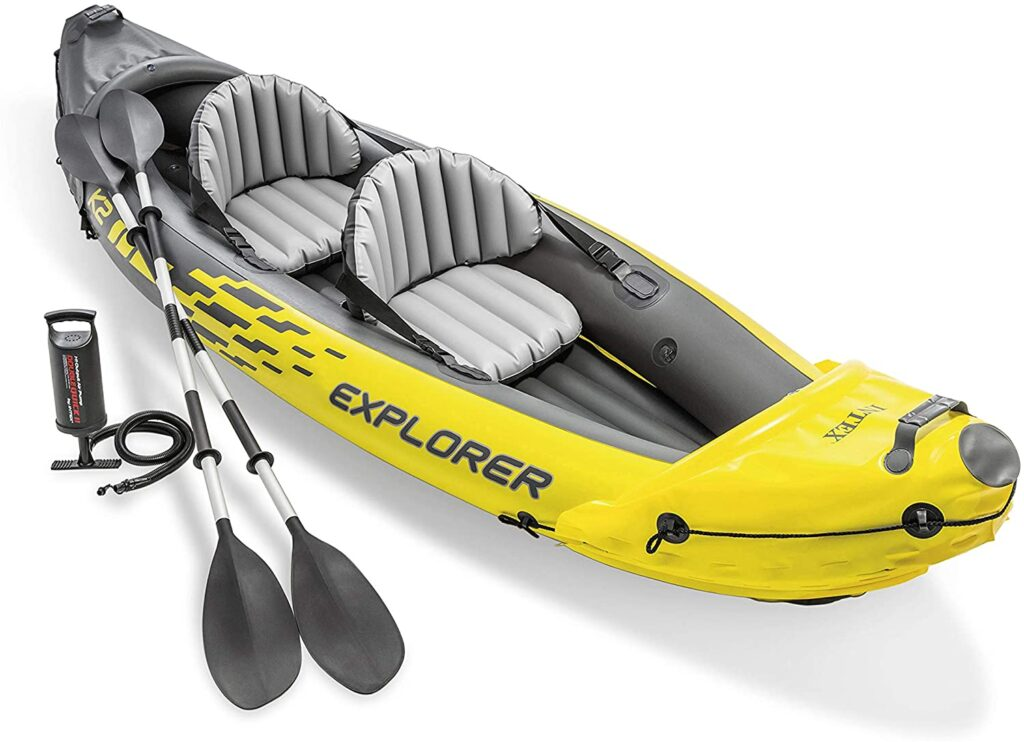 Kayak hinchable de pesca Intex 68307NP