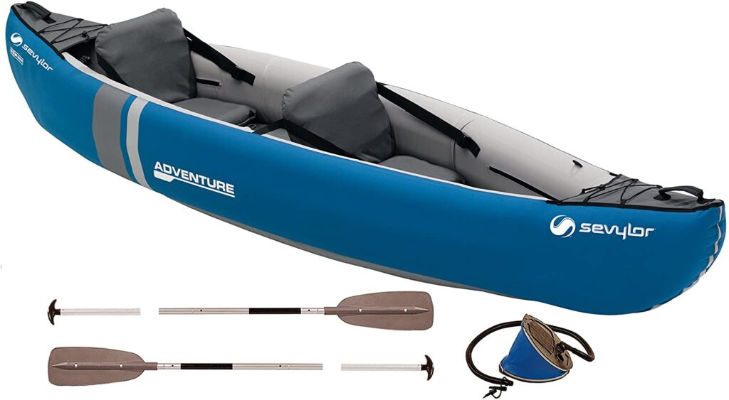 Kayaks hinchables pesca Sevylor Adventure