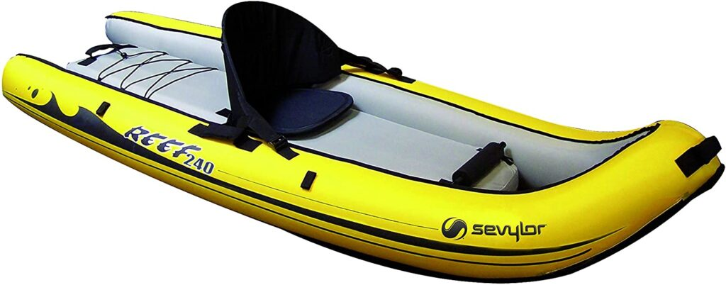 Kayaks hinchables pesca SEVYLOR Sit on Top