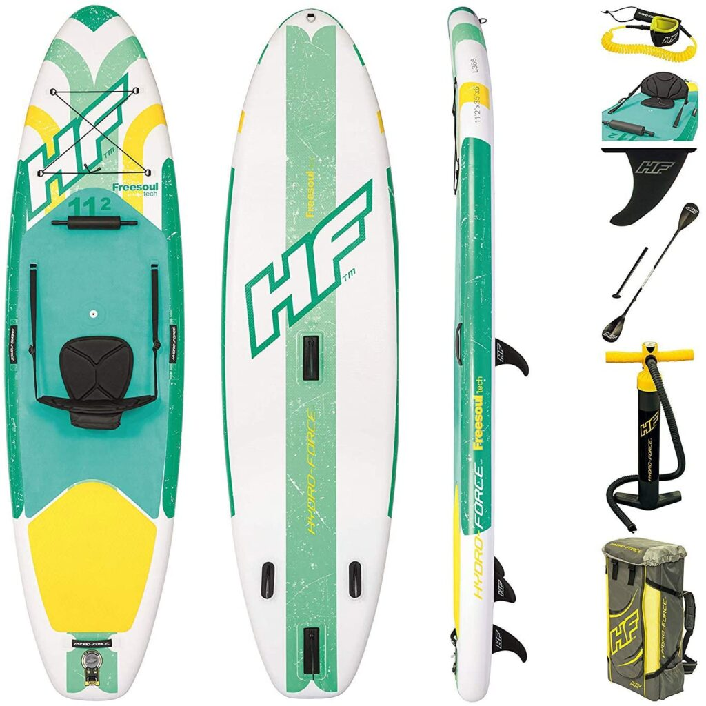 Tablas de paddle surf hinchables Bestway freesoukl Tech