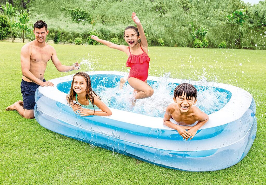 piscina hinchable rectangular Intex 56483NP